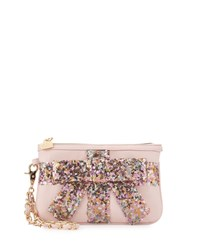 Betsey Johnson That's A Wrap Sequined Wristlet Blush Fairy Dust