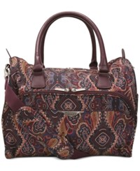 Ricardo Big Sur 16' Satchel Only At Macy's Mocha Maze