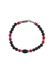 Roman Paul Beaded Bracelet Black