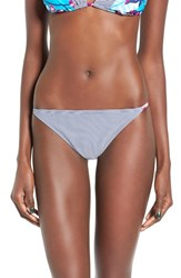 Roxy Women's Line It Up Cheeky Bikini Bottoms