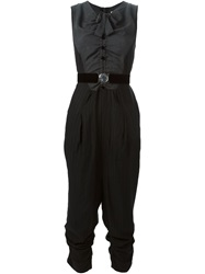 High 'In Pursuit' Jumpsuit Black