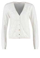 Cream Laura Cardigan Chalk Off White