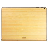 Toast Wooden Surface Book Cover Bamboo