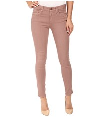Calvin Klein Jeans Garment Dyed Ankle Skinny Burlwood Women's Casual Pants Mahogany