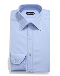 Tom Ford Classic Solid Dress Shirt Light Blue