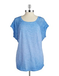 Kensie Modified Raglan Top Lapis