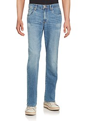 Tommy Bahama Straight Leg Faded Jeans Blue