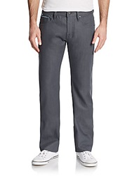 Cult Of Individuality Hagen Straight Leg Jeans Grey