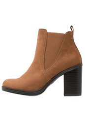 Dorothy Perkins Lateo Ankle Boots Brown