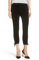 Pam And Gela Women's Lace Up Sweatpants