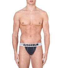 Aussiebum Enlargeit Jockstrap Charcoal
