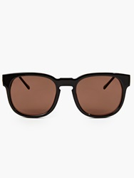 Thierry Lasry Black Acetate ''Authority'' Sunglasses