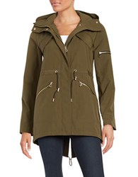 Vince Camuto Military Inspired Anorak Jacket True Olive
