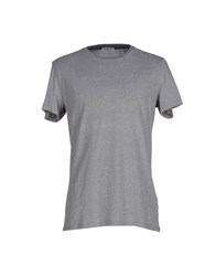 Kangra Cashmere Topwear T Shirts Men Grey