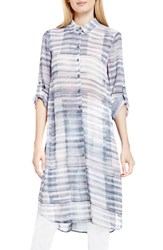 Vince Camuto Women's Two By Print Collared Long Tunic