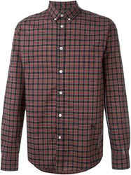 Soulland 'Goldsmith' Checked Shirt Blue