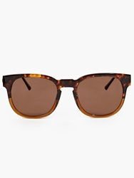 Thierry Lasry Tortoiseshell Acetate ''Authority'' Sunglasses