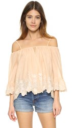 Love Sam Camille Top Blush