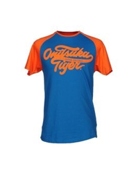 Onitsuka Tiger By Asics Onitsuka Tiger T Shirts Slate Blue
