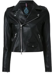 Guild Prime Zip Up Biker Jacket Black