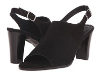 Walking Cradles Gwen Black Snake Nubuck Women's Sandals