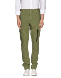 M.Grifoni Denim Trousers Casual Trousers Men Military Green