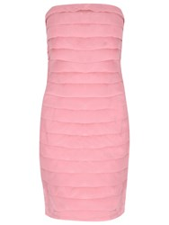 True Decadence Tiered Organza Band Dress Pink