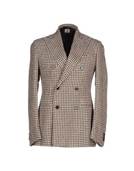 Luigi Borrelli Napoli Suits And Jackets Blazers Men Dark Brown
