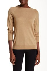 Equipment Sloane Wool Blend Crew Neck Sweater Brown