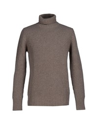 Dekker Knitwear Turtlenecks Men Dove Grey