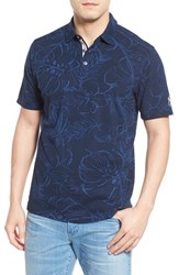 Men's Tommy Bahama 'New York Yankees Fairweather Fronds' Print Pique Polo