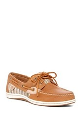 Sperry Koifish Raffia Boat Shoe Brown