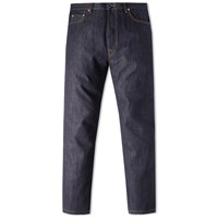 Valentino Slim Selvedge Jean Blue