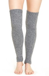 Lemon Women's 'Powdered' Knit Leg Warmers Peppercorn