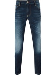 Philipp Plein 'Slam' Slim Fit Jeans Blue