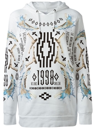 Marcelo Burlon County Of Milan Printed Sweatshirt White
