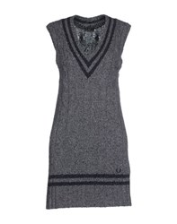 Fred Perry Dresses Short Dresses Women Grey