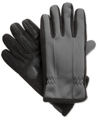 Isotoner Signature Thermaflex Smartouch Tech Stretch Gloves Grey