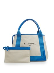 Balenciaga Ligne Cabas S Cotton Canvas Tote