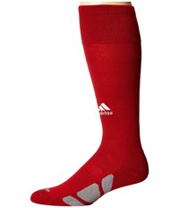 Adidas Utility Over The Calf Power Red White Light Onix Knee High Socks Shoes