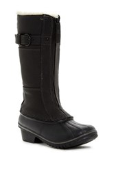 Sorel Winter Fancy Tall Ii Faux Shearling Lined Boot Waterproof Black