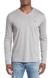 Lacoste Men's Pima Cotton V Neck T Shirt