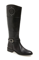 Vince Camuto 'Phillie' Tall Riding Boot Women Regular And Extended Calf Black Leather