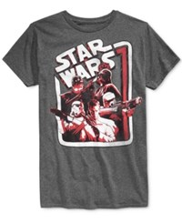 Fifth Sun Men's Star Wars Graphic Print T Shirt Charcoal H