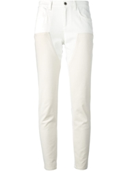 Givenchy Two Tone Jeans Nude And Neutrals