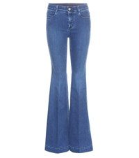 Stella Mccartney Flared Jeans Blue