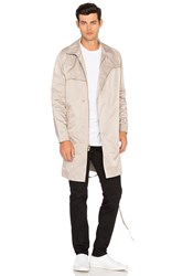 Stampd Parachute Trench Beige