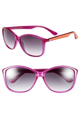 Converse 'Pedal' 60Mm Sunglasses Neon Pink