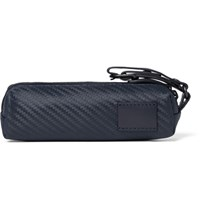 Dunhill Golf Ball And Tee Set With Leather Case Navy
