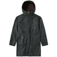 Barbour X White Mountaineering Apus Wax Jacket Green